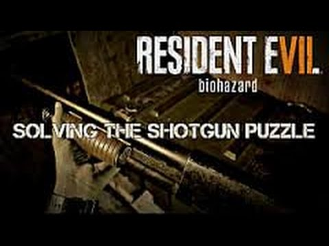 Resident Evil 7 Toy Shotgun Puzzle Solved Where To Use