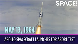 OTD in Space – May 13: Apollo Spacecraft Launches for Abort Test