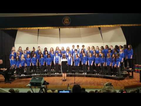 Choir Festival 2017 7th & 8th grade Ryukyu Middle School