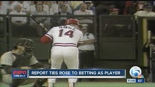 ESPN report: Pete Rose bet on baseball as a player