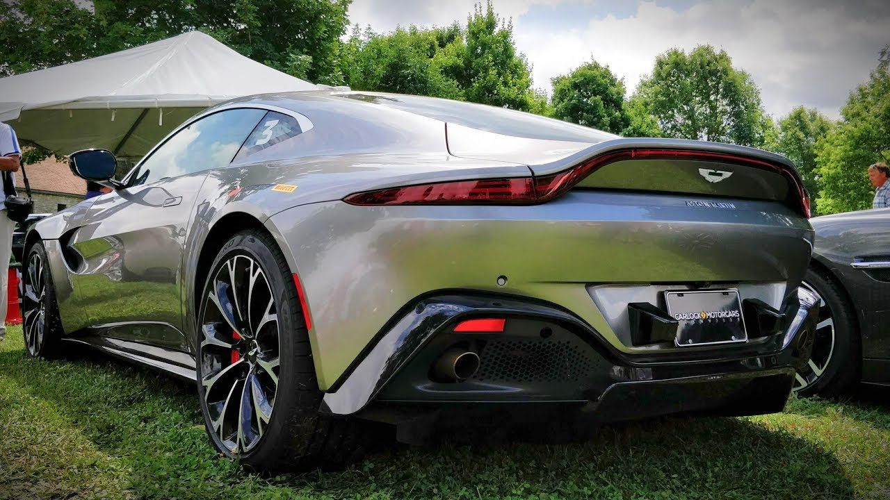 New 2019 Aston Martin Vantage Walkaround Sexiest Aston Ever Made