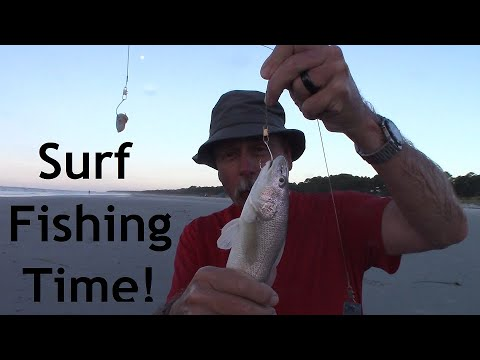 Surf Fishing Hilton Head Island