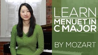 Mozart | Menuet in C Major | Early Intermediate Piano Lesson | Video
