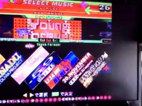DDR 4mix Plus - Konami System 573 Arcade Board Test