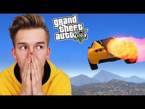 GTA V - STUNT CHALLENGE 5! 🚗