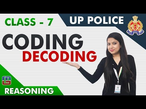 UP Police कांस्टेबल 2018 | Coding Decoding | Reasoning | Class - 7 | 1:00 PM