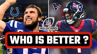 Which NFL Team is Better?   Houston Texans or Indianapolis Colts?