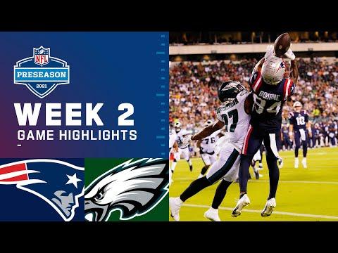 New England Patriots vs. Philadelphia Eagles   Preseason Week 2 2021 NFL Game Highlights
