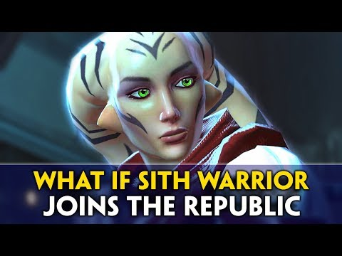 What if The Sith Warrior [Empire Character] Joins the Republic in SWTOR, Jedi Under Siege