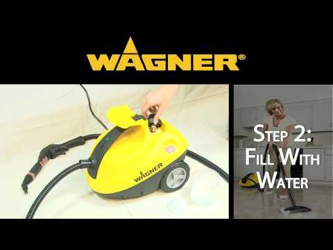 Wagner 915 Power Steamer Set-up