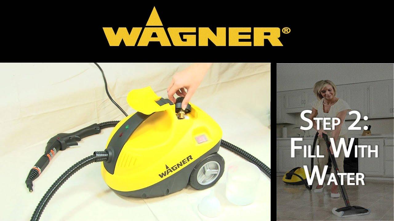 wagner 915 power steamer set up youtube. Black Bedroom Furniture Sets. Home Design Ideas