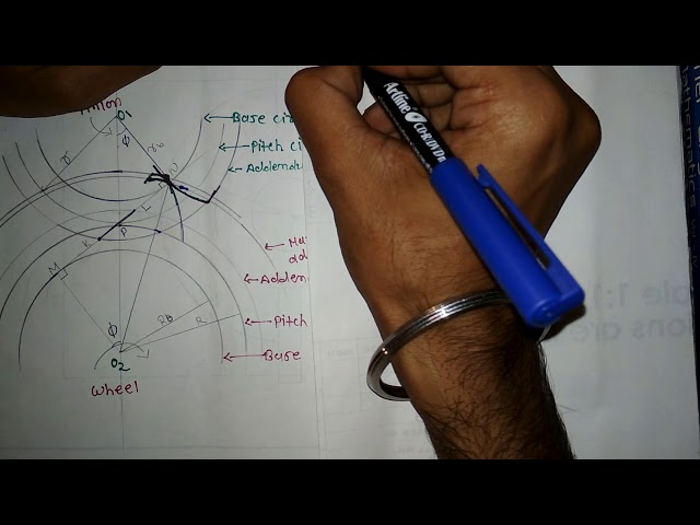 #11.[IN HINDI] INTERFERENCE IN GEAR,MINIMUM NUMBER OF TEETH.MAXIMUM PATH OF CONTACT. (KOM)(TOM)