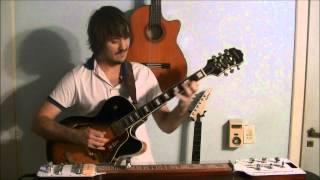 Yes - Siberian Khatru - Guitar Cover + Lap Steel (Second Time)