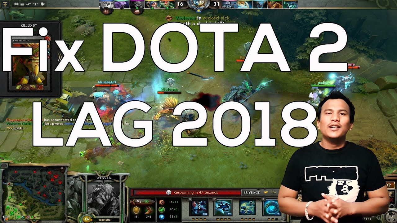 Dota 2 - Fix lag Low fps 2018 100 % Working with demo by Technical Pukar