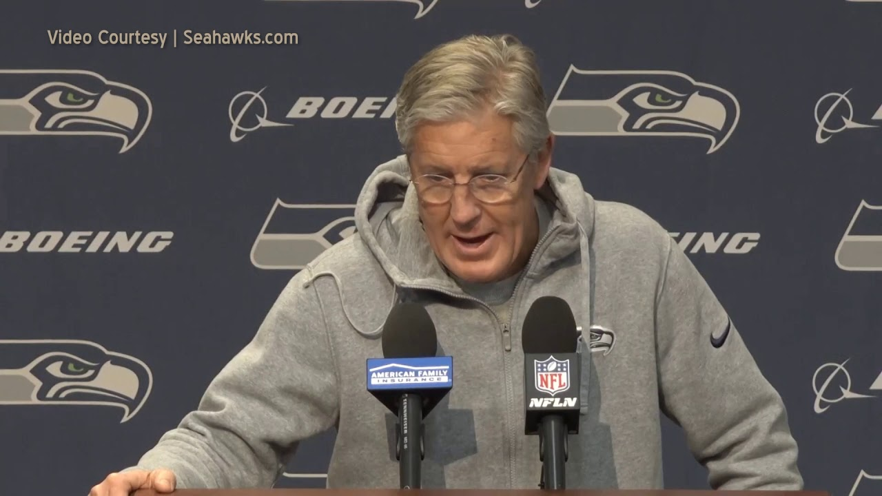 Pete Carroll Reflecting on Niner Game 2019-12-31