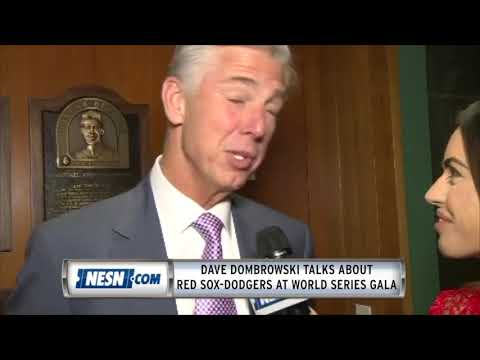 Dave Dombrowski talks Red Sox-Dodgers at World Series Gala