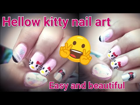 Download anika saad videos omgyoutube hello kitty nail art sciox Image collections