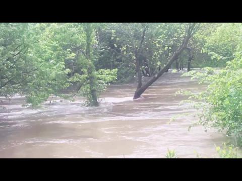 Fort Scott Kansas Flood river