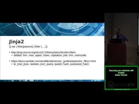 Class 1 03 Securing Your Networks With Ansible Adam Vincent