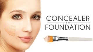 How to Apply Foundation and Concealer I 1