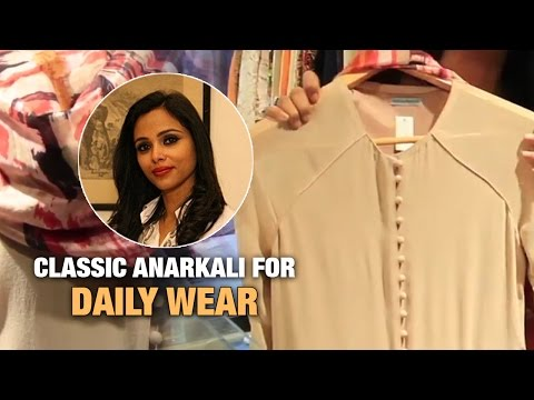 Classic Anarkali for Daily Wear |  The Ethnic Attire