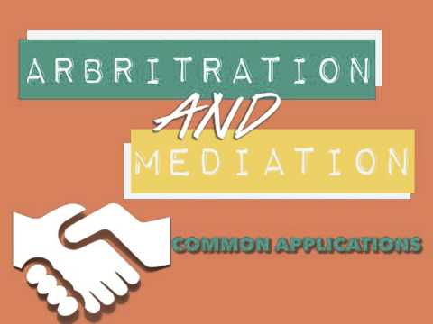 Arbitration & Mediation Services