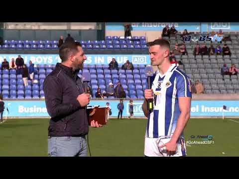 Ballyboden's Aran Waters speaks to DubsTV after Go Ahead Dublin Quarter Final win over Castleknock