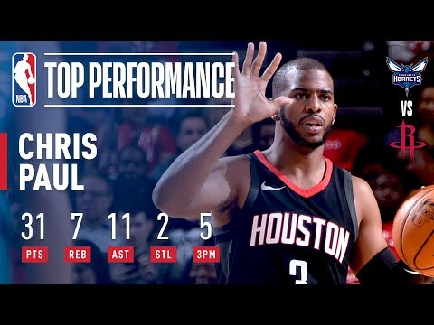 Download Youtube: Chris Paul's 31 Points and 11 Assists Leads Rockets Over Hornets | December 13, 2017