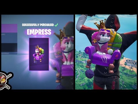*NEW* EMPRESS Back Bling In Fortnite