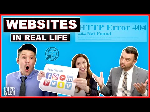 Websites in Real Life