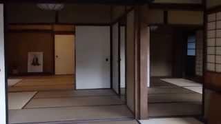 山口県萩市の玉木文之進旧宅.
