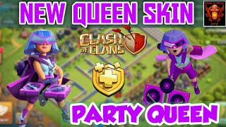 PARTY QUEEN , New queen skin , upcoming queen skin clash of clans Tamil #SHAN