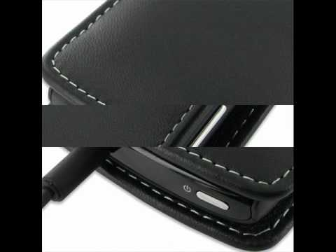 PDair Leather Case for Acer Allegro M310 - Vertical Pouch Type (Black)