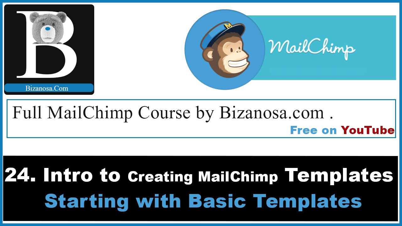 MailChimp Templates Creating Basic Templates MailChimp - Mailchimp template tags