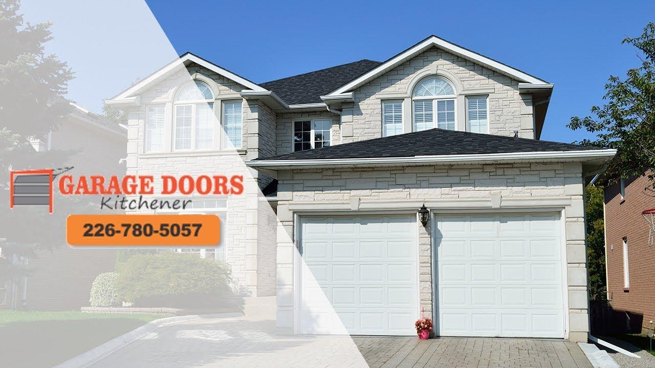 New Garage Door Cambridge Hire The Pros 226 780 5057 Youtube