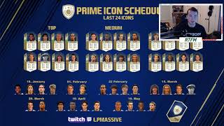 PRIME ICON SCHEDULE? PLS NO EA