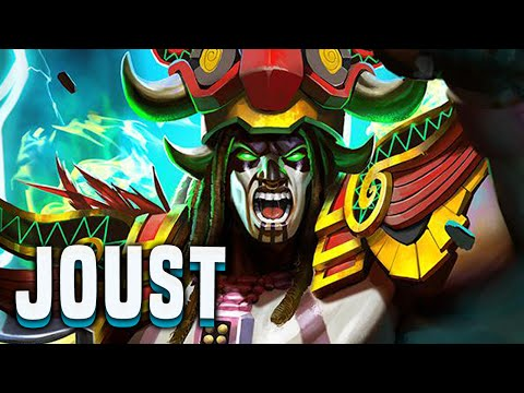 The Best Skin In Smite!? Sadly Not... (Chaac Build) - Smite Chaac Joust Gameplay