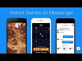 Facebook Messenger New Games || Instant Gaming || Nokia Snake Game Available!