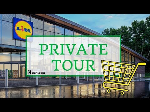 Lidl US Grand Opening Private Tour - YouTube