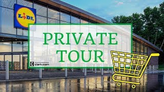 Lidl US Grand Opening Private Tour