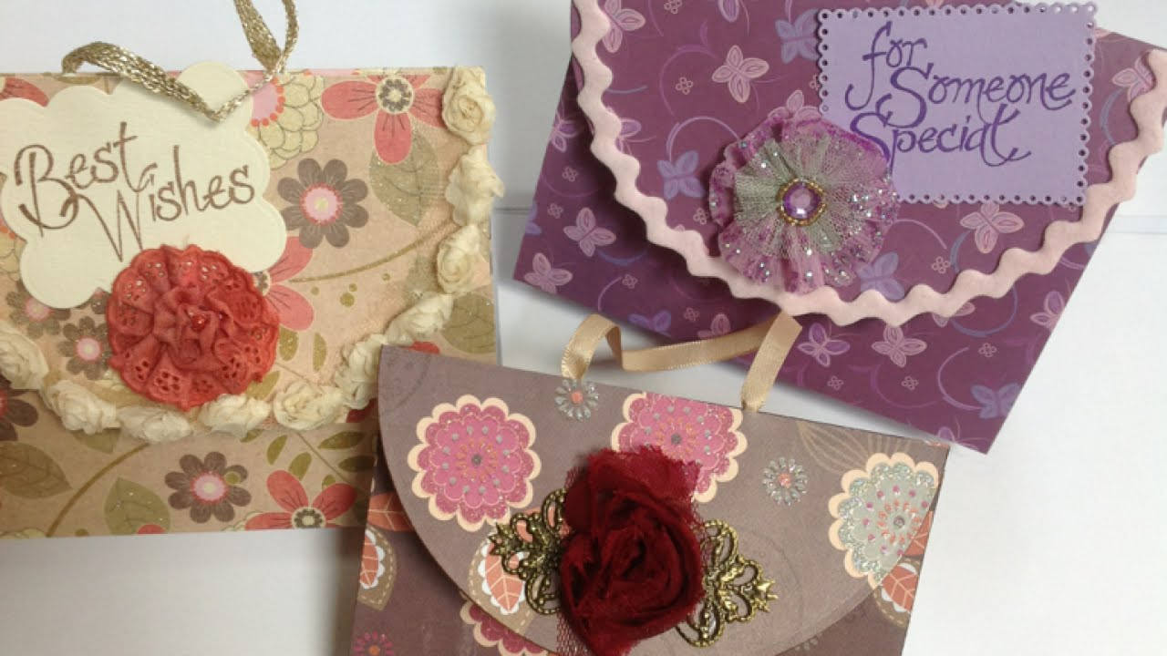 How To Make a Nice Handbag - DIY Shaped Greeting Card ...