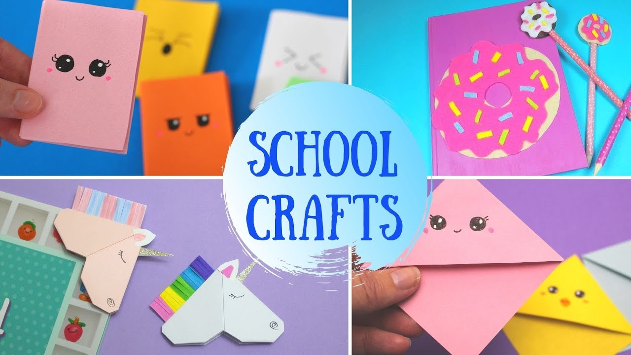 Diy School Crafts Back To Craft For Kids You
