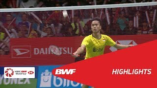 DAIHATSU Indonesia Masters 2018 | Badminton MS - F - Highlights | BWF 2018