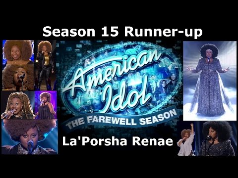 American Idol Season 15 Runner-up La'Porsha Renae - Audition to TOP 2