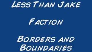 Watch Less Than Jake Faction video
