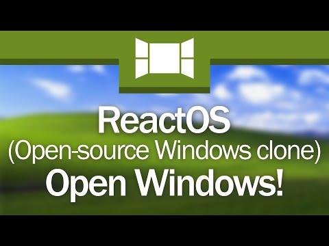 ReactOS: Free, Open-Source Windows®