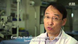 哈尔滨实验室里的小鼠头部移植手术 高清