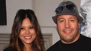 Kevin James and his wife Steffiana de la Cruz
