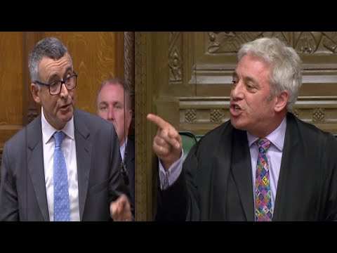 Bercow sparks FURY