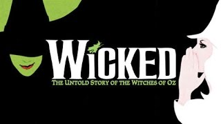 WICKED - Popular (KARAOKE) - Instrumental with lyrics on screen